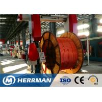 Quality Metal Sheathing Cable Armouring Machine For High Voltage Power Cable wholesale