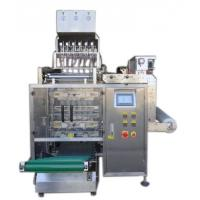Quality 8 Lanes Automatic Liquid Packing Machine For  Water / Detergent , 3 / 4 Sides Seal Type wholesale