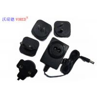 Quality 18V 500mA Interchangeable Power Supply PC ABS Material Short Circuit Protection wholesale