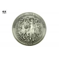 Quality Coast Guard Engraved Custom Challenge Coins silver collector coins Embossed Logo Printed wholesale