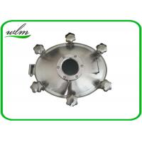 Quality Sight Glass Stainless Steel Manhole Cover High Pressure Elliptical Shaped wholesale