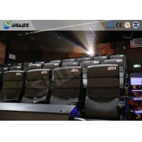 Quality Commercial Theater 4D Movie Equipment With Electric System Motion Chair wholesale