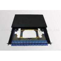 Quality 24 Core Fiber Optic Patch Panel 19 Inch Rack Mounted for Connection wholesale