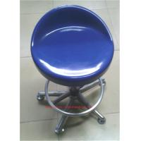 Quality Steel Back Frame Lab Chairs And Stools , Customized Made Revolving Lab Bench Chairs wholesale