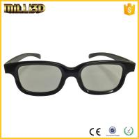 Quality factory passive circular/linear polarized 3d glasses for cinema wholesale
