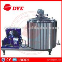 Quality DYE 1000L farm used  Vertical Craft milk tank For Bulk Milk, liquid chiller wholesale