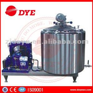 Quality DYE 1000L farm used  Vertical Craft milk tank For Bulk Milk, liquid chiller wholesale