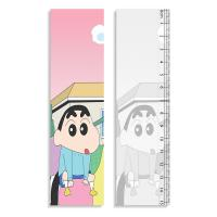 Quality Straight Rulers 3D Lenticular Printing Service With Crayon Shin - Chan Design wholesale