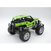 Quality Metal Shell Boys Rock Crawler Buggy Toy Friction Powered 4 Color 2 Size wholesale