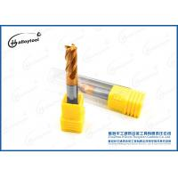 China High Performance Solid Tungsten Carbide End Mill , Customized Carbide Cutter on sale