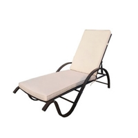 Quality SNUGLANE W190mm H530mm Outdoor Adjustable Chaise Lounge Chair Duarable wholesale