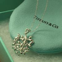 Quality Sell hotest Olive leaf hanging 925 sterling silver necklace chain female elegant accessory wholesale