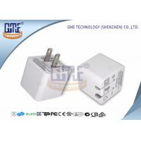 Quality Ultrasonic Thin Folding Pin Universal USB Power Adapter AC TO DC 2.4A US Standard wholesale
