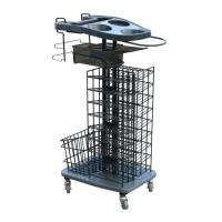 Quality Customized ABS Beauty Basket Salon Trolley Cart for Stylist Tools wholesale