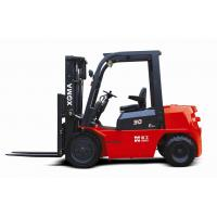 China Diesel Powered Forklift Warehouse Lift Truck 3m Max Lifting Height With Low Noise on sale