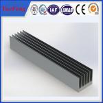 Quality OEM 300 types per year anodized aluminum alloy profile extruded aluminum heatsink wholesale
