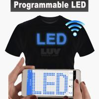 China LUV Portable programmable LED lighting equipment USB rechargeable battery with app software control by smart phone on sale