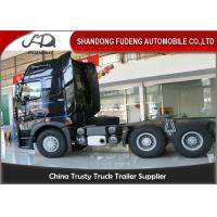 Quality Howo A7 Tractor Head Trucks With One Beth 10 Wheerler 420 Horse Power wholesale