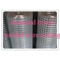 Buy cheap diamond brand Welded Wire Mesh from wholesalers