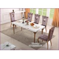 China Stainless Steel Dining Table and Chairs For Sale With Best Price (YS-1) on sale