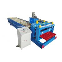 Buy cheap 1100mm Russia Type Glazed Step Tile Roofing Panel Roll Forming Equipment ISO from wholesalers