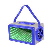 Quality CH-M37 Portable Rectangular 3D Light Bluetooth Speaker Available colors: black / blue / red wholesale