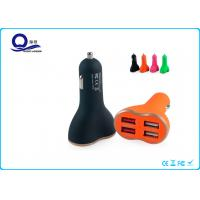 6.8A Fast Charging USB Car Charger With Two Usb Ports For Samsung / IPhone