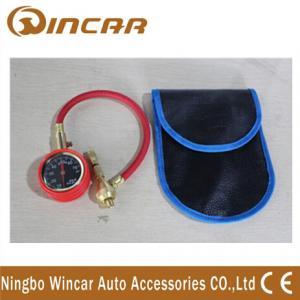 Quality High Precision Car portable digital Tire pressure Gauge Auto Metal Material wholesale