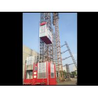 China Construction Site Rack / Pinion Hoist And Lifting Equipment For Passenger / Material Elevator on sale