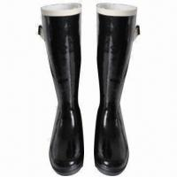 Quality Women's fashionable rubber rain boots wholesale