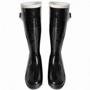 Quality Women's fashionable rubber rain boots wholesale