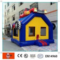 Quality Attractive Car style Mini Commercial Inflatable Bouncers for entertainment Play Center wholesale