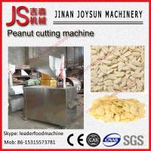 Quality 300kg / hr Peanut / Almond Peanut Cutting Machine 0.05 -1.2mm Thickness wholesale