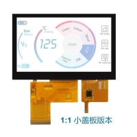 Quality 16.7M Color 40 Pin 4.3 Inch Touch Screen , 300cd/M2 Capacitive Touch Display wholesale