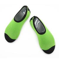 China Outdoor Air Mesh Swim Shoes Soft Sole Comfortable Gym Mesh Aqua Shoes on sale