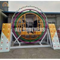 Quality Outdoor 4 Seats Human Gyroscope Ride Face To Face One Year Warranty wholesale