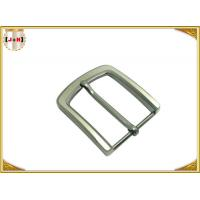 Quality Pearl Nickel Brushed 1.5 Inch Metal Belt Buckle Perfect Design Die Casting Plating wholesale