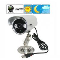 Quality K908 Double Lamp Array IR LED Night Vision Waterproof CCTV Surveillance TF Card DVR Camera wholesale