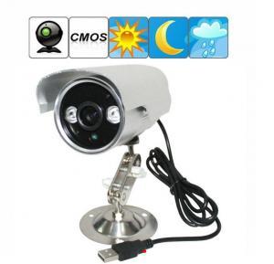 Quality K908 Double Lamp Array IR LED Night Vision Waterproof CCTV Surveillance TF Card DVR Camera wholesale