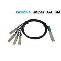 China Juniper Passive 40G Breakout Cable QSFP+ to 4 SFP+ For QDR Infiniband on sale