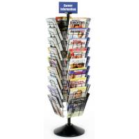 Quality Floor Magazine Display Racks with 36 Pockets for Advertising Agencies wholesale