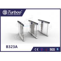 Quality Anti - Collision slience multiple Smart glass office  barrier optical low cost pedestrian  turnstiles wholesale