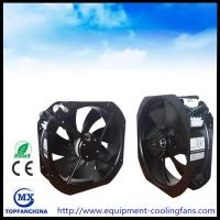 Buy cheap 11 Inch AC 220V Axail Industrial Cooling Fans Ball Bearing Black Painting Aluminue Frame from wholesalers