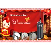 China fractional co2 laser machine / CE approved CO2 fractional laser machine with US imported RF tube on sale