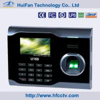 Quality Biometric Fingeprint Time Recorder for Employees With Software and SDK Free wholesale