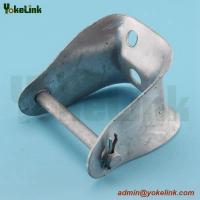 China Hot dipped Galvanized Insulated Deadend Crossarm Clevis/D Bracket/D Iron/Electric Power Line Hardware on sale