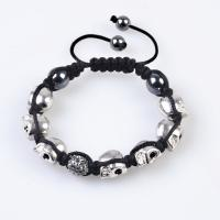 Quality Competitive price 10mm Shamballa Crystal Beads Bracelet with OPP bag wholesale