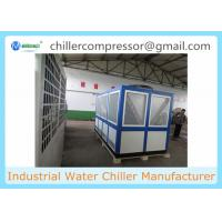 Quality 60HP Screw Compressor Air Cooled Water Chiller Cooling Water Unit wholesale