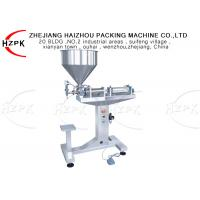 China 1000-5000ml Shampoo Filling Machine , Semi Automatic Cream Filling Machine on sale