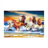 Quality 40*60cm 3D Image Poster Large Size Animal Horse Pictures Wall Prints wholesale